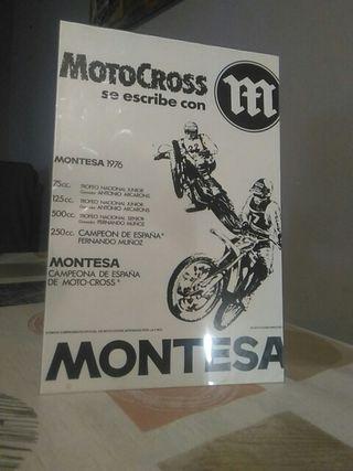 publicidad Montesa motocross
