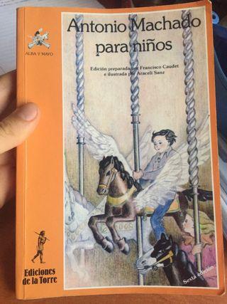 Libro: Antonio Machado para niños.