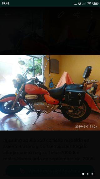 Hyosung aquila gv 250 cc