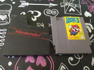 Super Mario Bros 3 Nintendo nes.(Cartucho y funda)