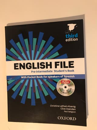 ENGLISH FILE PRE-INTERMEDIATE DE OXFORD