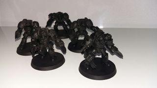 Warhammer 40k Marines Espaciales Exterminadores