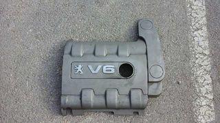 4165327 TAPA MOTOR PEUGEOT 607 (S2) Titanio Pack