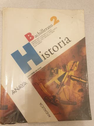 historia de 2 bachillerato anaya