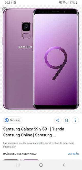 samsung s9 rota la pantalla para piezas