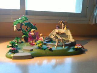 Jardín de las hadas de Playmobil