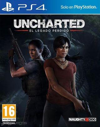 Uncharted El legado perdido para ps4