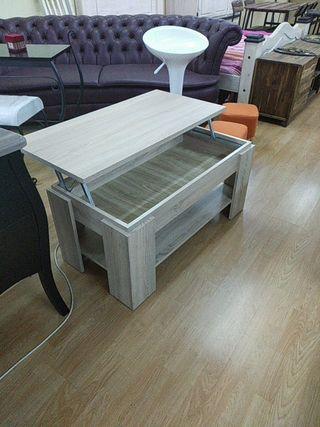 mesa con elevador