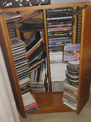 MUEBLE ARMARIO COMPACT DISCS