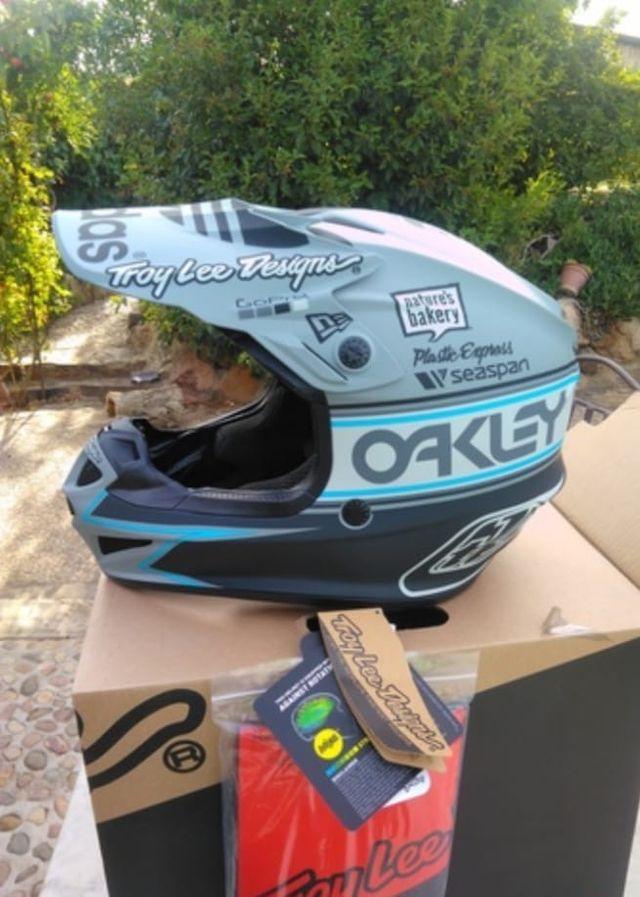 Casco moto cross enduro trial ktm quad moto motor