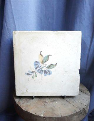 Azulejo de cerámica Valencia Siglo XVIII-XIX