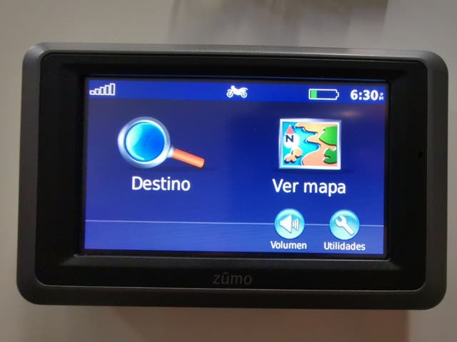 GPS Garmin Zumo