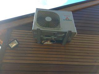 Bomba de calor y aire acondicionado.