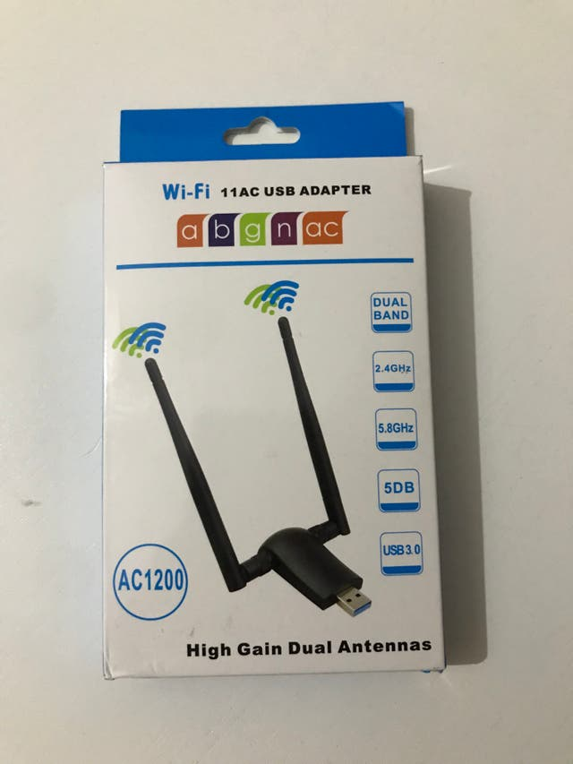 Adaptador WiFi USB (Dual Band)