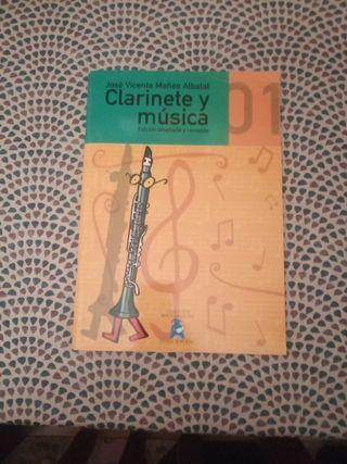 Libro clarinete y musica