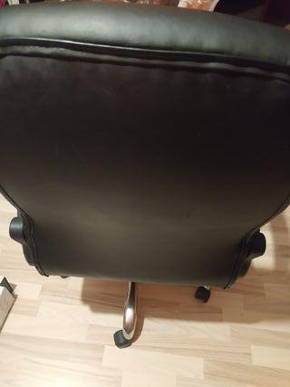 silla escritorio cuero