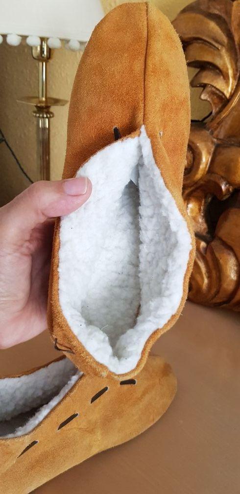 Zapato tipo mocasin indio N 37.