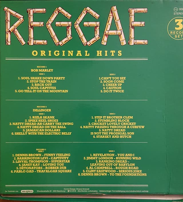 REGGAE ORIGINAL HITS