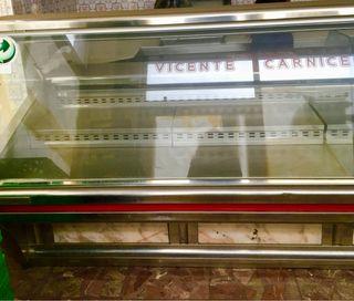 Vitrina frigorífica de Carniceria con frío