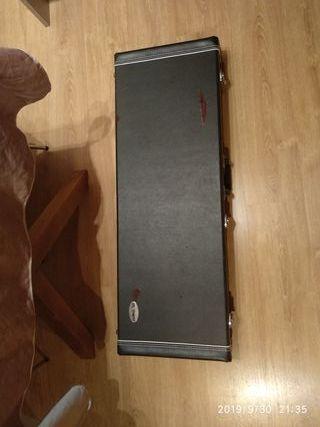 maleta estuche funda dura guitarra gibson