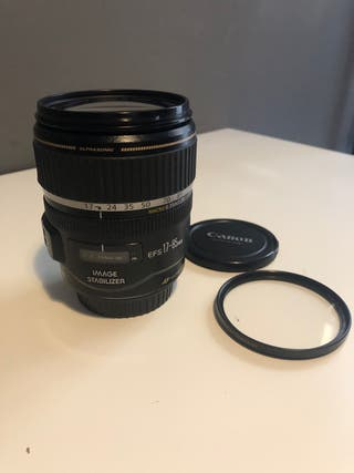 Objetivo Canon 17-85