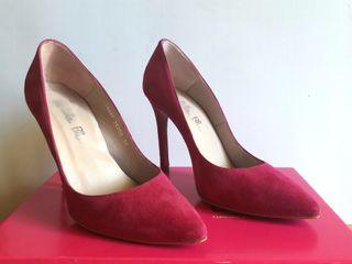 Zapatos fuscia