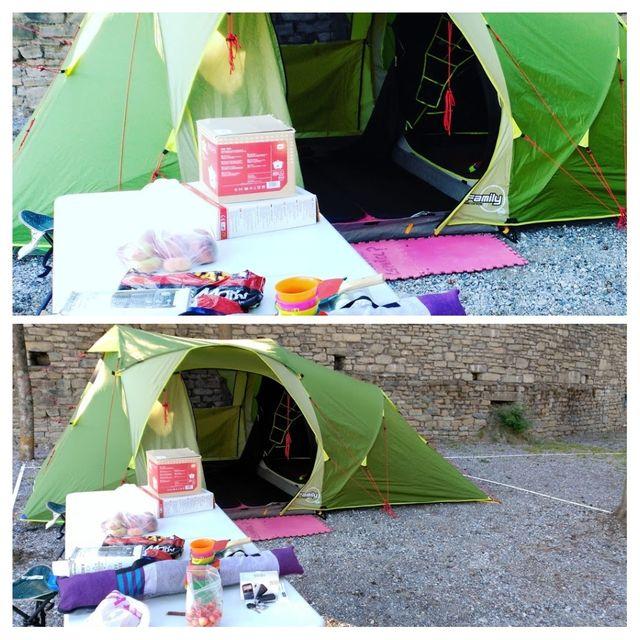 Tienda campaña Quechua Second 4.1