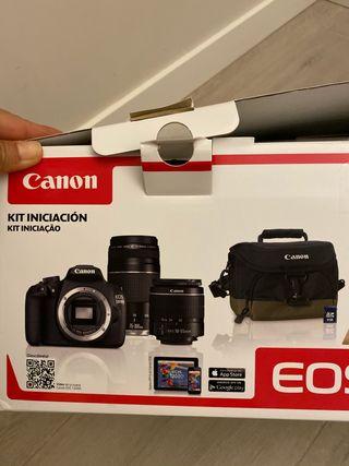Cámara reflex digital Canon como nueva