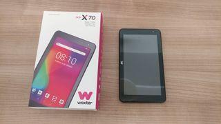 "Tablet Woxter 7"" casi sin usar"