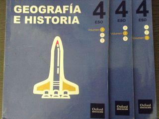 Geografia e historia 4 oxford