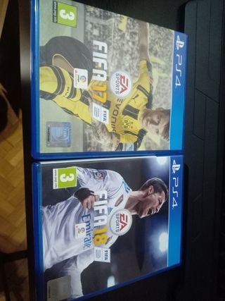 Fifa 18 + Fifa 17 para PS4