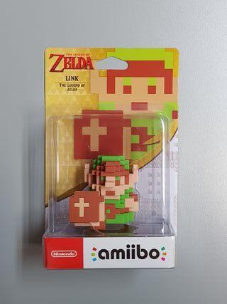 amiibo Link 8-Bits. Colección Zelda