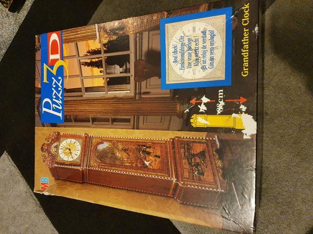3D Grandfather Clock Puzzle