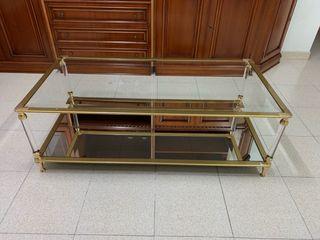 Mesa de salón/ mesa de centro de cristal