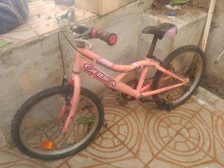 Bicicleta color rosa 20 pulgadas para restaurar