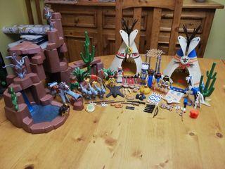 Poblado Indio Playmobil ref. 3870