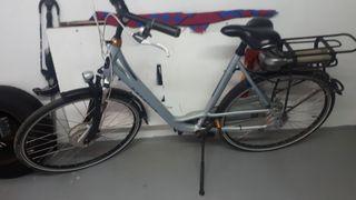 vendo o cambio bicicleta de paseo electrica