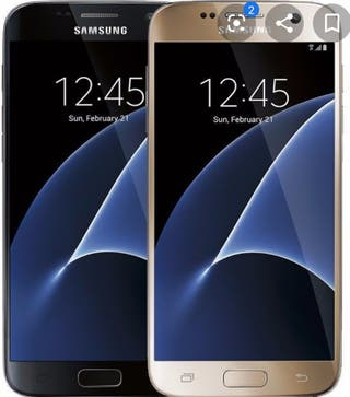 **OFERTA** Galaxy S7 negro 32GB con funda Samsung