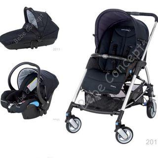 Carro trío Bebé Confort Streety