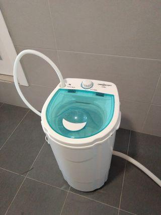 Lavadora centrifugadora portatil