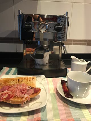 Cafetera Domus due Briel automatic