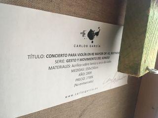Cuadro Carlos Garcia