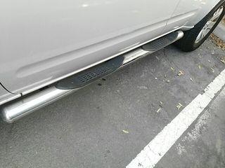 Cambio estriberas Nissan Pathfinder tubo acero ino