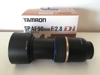 Tamron SP AF 90mm F/2.8 Di MACRO 1:1 (Para Nikon)