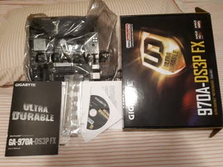 placa base gigabyte Am3+Cpu Fx6350+16gb ram ddr3