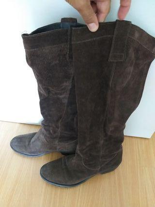 Botas de ante Pepe Jeans marrones