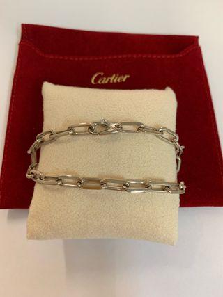 Pulsera Cartier en oro blanco de 18k