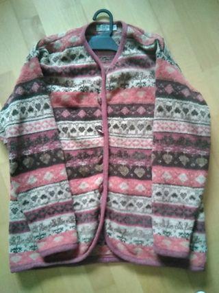 Chaqueta lana niña talla 14 estilo desigual