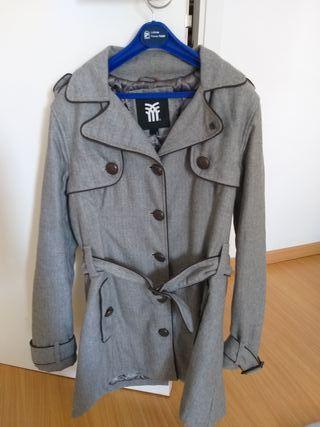 Abrigo Fenchurch gris y marrón