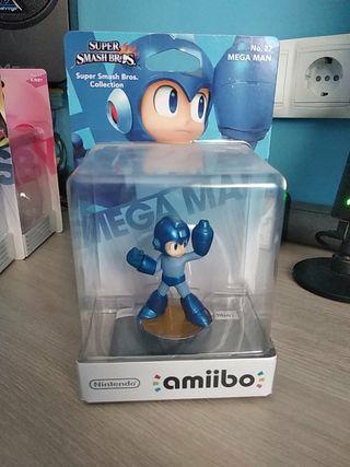 Amiibo Mega Man N°27 (PRECINTADO)